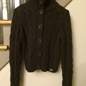 Polo by Ralph Lauren Sweaters - Polo Jeans by Ralph Lauren Brown Button up Sweater